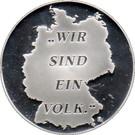 jeton - allemagne - Hans-Dietrich Genscher – revers