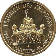 Jeton - 200e anniversaire de la Porte de Brandebourg – revers