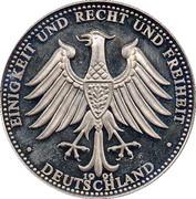 Token - Deutschland (Brandenburger Tor 200 years) – revers