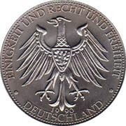 Token - Deutschland (Deutschland einig Vaterland; Wahrungsunion - German Currency Union) – revers