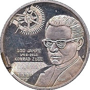 Konrad Zuse – avers