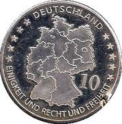 Token - Deutschland (Konrad Zuse) – revers