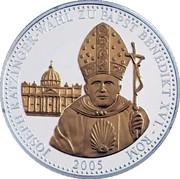 Le Pape Allemand - Élection du pape Benoît XVI – avers