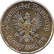 0.5 Taler - Posemuckel Hamburg – avers