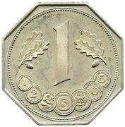 Token - Deutsche Mark (40 Years Anniversary) – avers