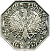 Token - Deutsche Mark (40 Years Anniversary) – revers