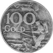 100 Gold – avers