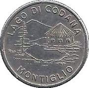 """gettone """"lago di Codana"""" – avers"""