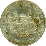 10 francs - Casino de Monte-carlo – avers