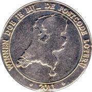 Nationale Postcode Loterij – avers