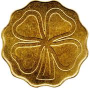Token (4-leaf Clover) – revers