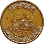 Jeton Thomas Automatics – avers