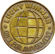 Game Token - Lucky Winner (24.5 mm) – avers