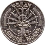 Leisure Island Token – avers