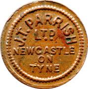 ½ Pennny J.T. Parrish (Newcastle on Tyne) – avers