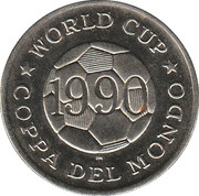 World Cup - Coppa Del Mondo - 1990 - Emirats Arabes Unis -  revers