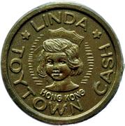 Half Penny Toytown Cash (Linda) – avers