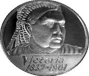 Victoria six british monarchs bronze – avers