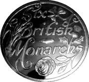 Victoria six british monarchs bronze – revers