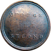 Sentimental Token George The Second – revers