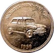 Jeton Shell - Morris Mini-Minor 1959 – avers