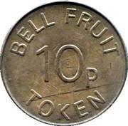10 Pences - Bell Fruit token – revers