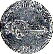 Jeton shell - Lamborghini Miura 1970 – avers