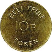 10p Bell Fruit Token – revers