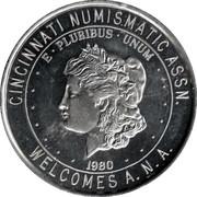 Token - Cincinnati Numismatic Assn. – avers