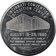 Token - Cincinnati Numismatic Assn. – revers