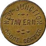 New Junction Tavern token – avers