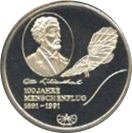 Token - Otto Lilienthal – avers