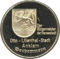 Token - Otto Lilienthal – revers