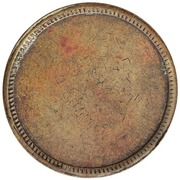 West Indian Coal Company Tally Token (St. Thomas) – revers