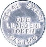 1 Lilangeni - Royal Swazi Casino – avers