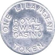 1 Lilangeni - Royal Swazi Casino – revers