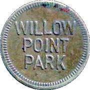 Willow Point Park token – avers