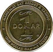 Mandalay Bay Casino (Las Vegas) – revers