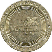 Jeton de casino 1 Dollar - The Venetian Casino (Las Vegas) – avers
