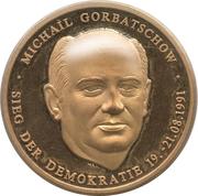 Jeton - Mikhail Gorbachev – avers