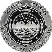 Medallion - Lewis and Clark Bicentennial – avers