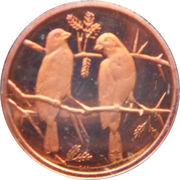 1 Cent (Commemorative Medallion) – revers