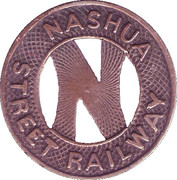 1 Fare (Nashua Street Railway) – avers