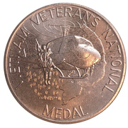 Medal - Vietnam Veterans National Medal – avers