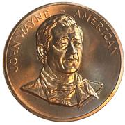 Medal - John Wayne – avers
