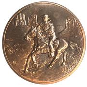 Medal - John Wayne – revers