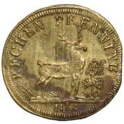 Rechenpfennig - Johann Jakob Lauer (Minerva) – revers