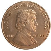 Medal - Elie Wiesel – avers