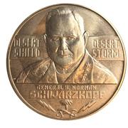 Medal - General Norman Schwarzkopf – avers