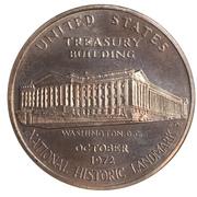Medal - United States Treasury Building – avers